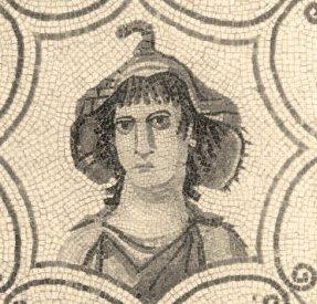 Mosaic image of Tertullian