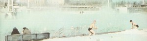 Moscow Pool in the winter