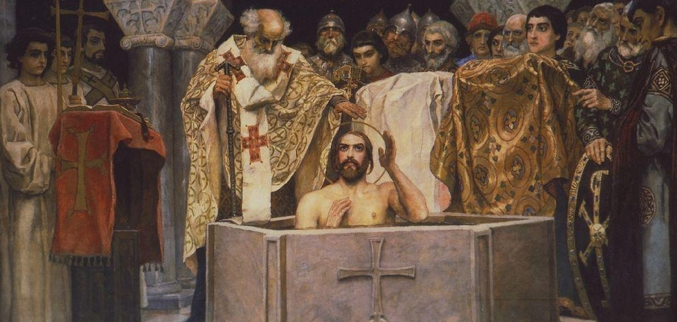the Baptism of Prince Vladimir