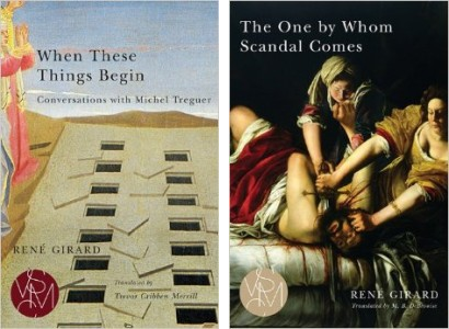 Book covers for When These Things Begin and The One By Whom Scandal Comes