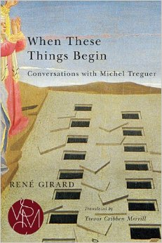 book cover for When These Things Begin: Conversations with michel Treguer